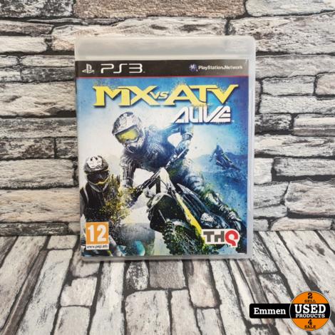 PS3 - MX vs ATV Alive - Playstation 3 Game