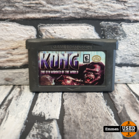 GBA - Kong The 8th Wonder of the World (Losse Game)