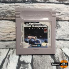 GB - Nigel Mansell World Championship Racing (Losse Game)