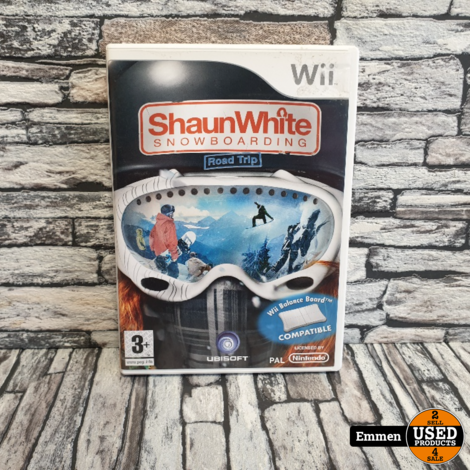 Wii - Shaun White Snowboarding