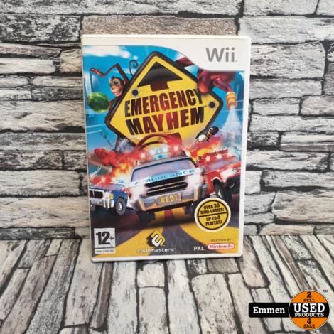 Wii - Emergency Mayhem