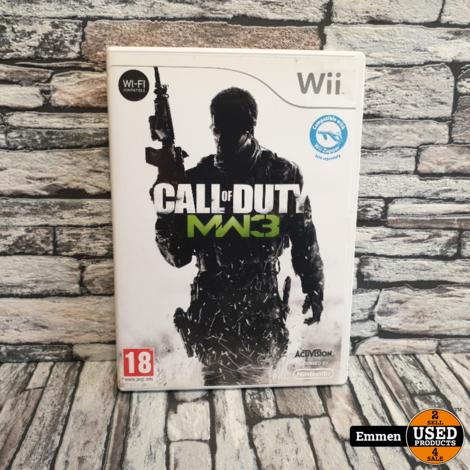 Wii - Call of Duty Modern Warfare 3