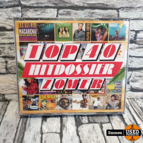 5 CD - Top 40 Hitdossier Zomer 2020 (NIEUW)