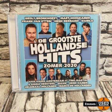CD - De Grootste Hollandse Hits Zomer 2020 (NIEUW)