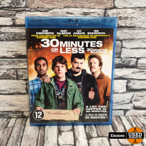 Blu-Ray - 30 Minutes or Less (2011)