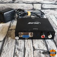 HDMI - VGA Converter HDMI in -> VGA + RW out