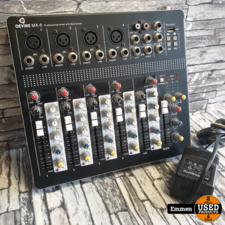 Devine MX-6 - Professional Mixer met MP3 Speler