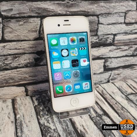 Apple iPhone 4 - 8 GB Wit