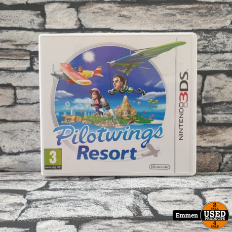 3DS - Pilotwings Resort - Nintendo 3DS Game