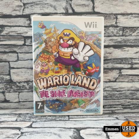 Wii - Wario Land - The Shake Dimension - Nintendo Wii Game