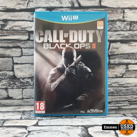 Wii U - Call of Duty Black Ops II - Nintendo Wii Game