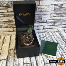 Gamages Race Calendar Rose - Automatic Herenhorloge