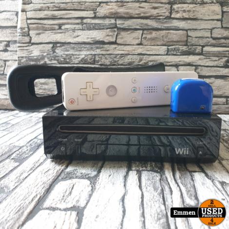 Nintendo Wii - Zwart + 1 Controller
