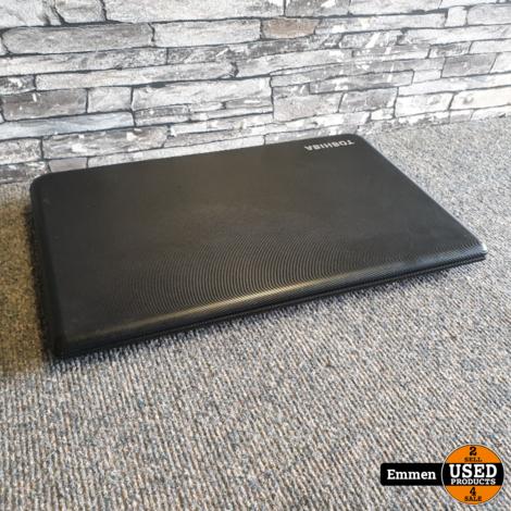 Toshiba Satellite C50-A19U - Intel Core i3 Laptop (Geluid gaat via USB Geluidskaart)