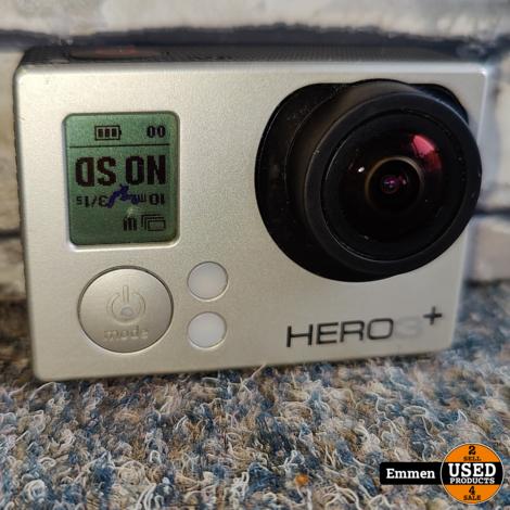 GoPro Hero 3+ (met vlekje in Display) met Selfie Stick