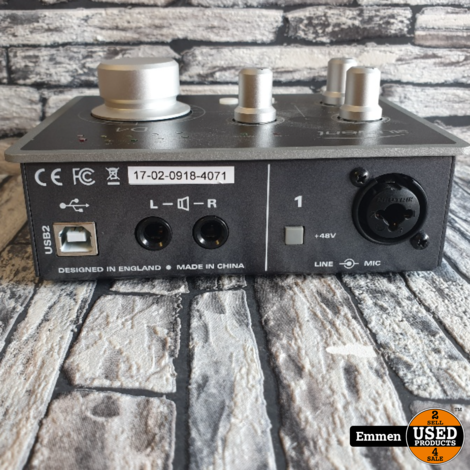 Audient ID4 - Audio Interface