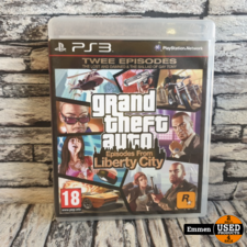 PS3 - GTA Episodes From Liberty City