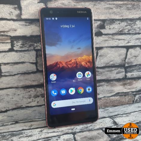 Nokia 3.1 - TA-1063 - Rood/Blauw