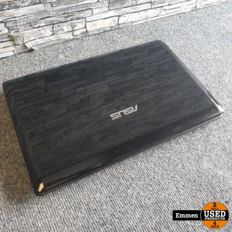 Asus K52F - 15.6 Inch Laptop (behuizing bij scharnierpunt defect)