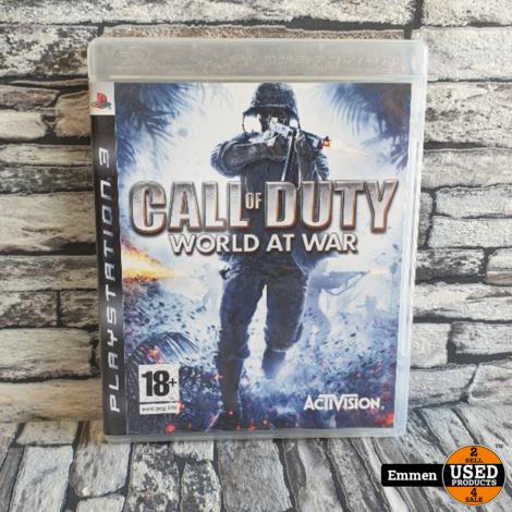 PS3 - Call of Duty World at War