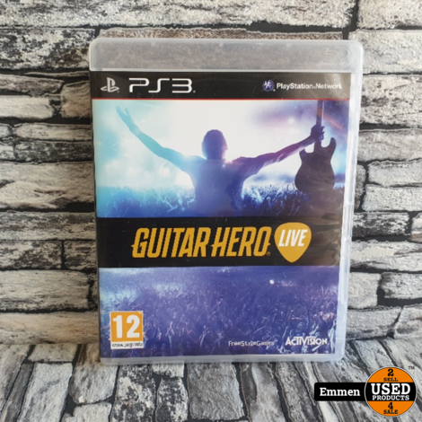 PS3 - Guitar Hero Live (Alleen Game) - Playstation 3 Game