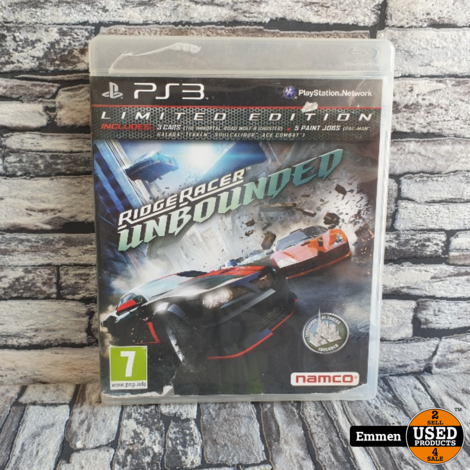 PS3 - Ridge Racer Unbounded