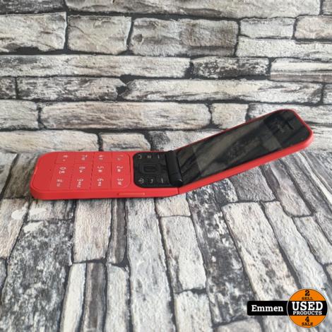 Nokia 2720 - Flip Red - Dual Sim (met Snake)