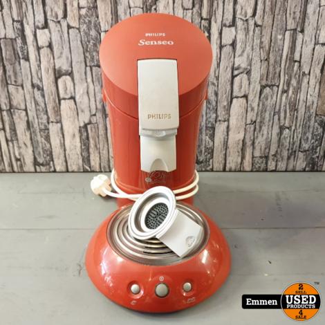 Philips Senseo HD7810 - Rood met padhouder voor 1 en 2 pads