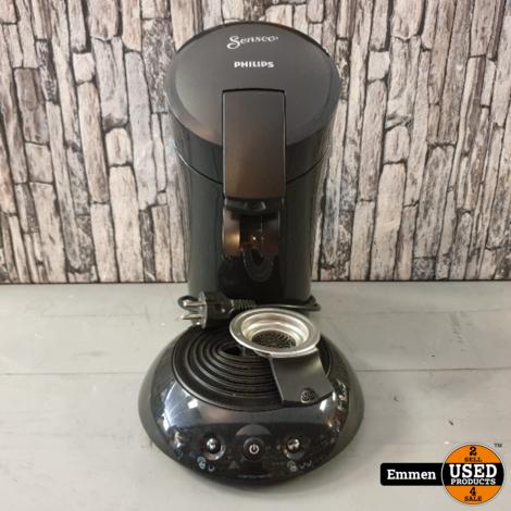 Philips Senseo HD6554 - Zwart met padhouder voor 1 en 2 pads