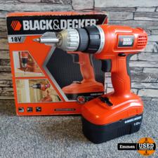 Black & Decker ECP18 - 18V Accuschroefmachine