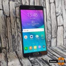 Samsung Galaxy Note 4 - Zwart (klein barstje, zonder pen)