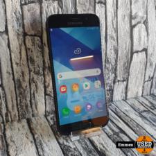 Samsung Galaxy A5 (2017) - Zwart (klein barstje scherm)