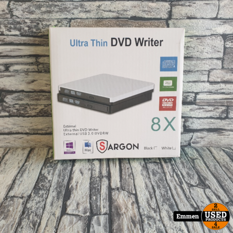 Sargon Ultra Thin USB DVD Brander