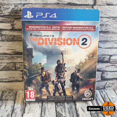 PS4 - Tom Clancy's The Division 2 - Washington D.C. Editie