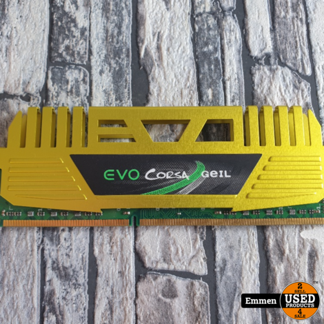 EVO Corsa Geil - 8 GB DDR3 - 1333MHz