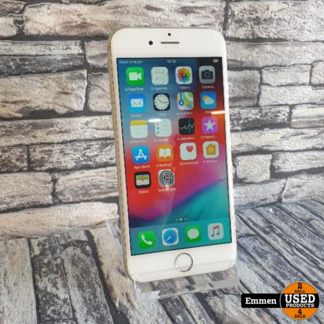 Apple iPhone 6 - 16 GB Wit (klein barstje)