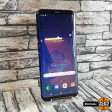 Samsung Galaxy S8 Plus - Zwart 64 GB (lichte inbranding scherm)