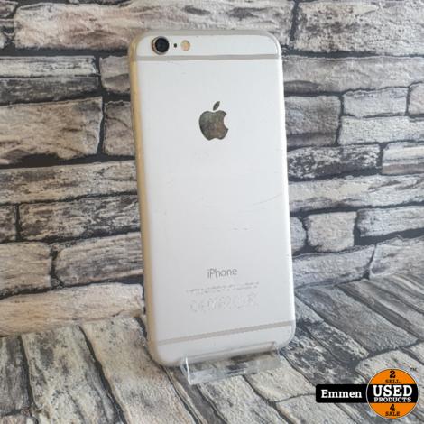 Apple iPhone 6 - 16 GB Wit - Batterijconditie: 100%