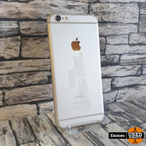 Apple iPhone 6 - 16 GB Wit - Batterijconditie: 92% - Achtercamera Defect!