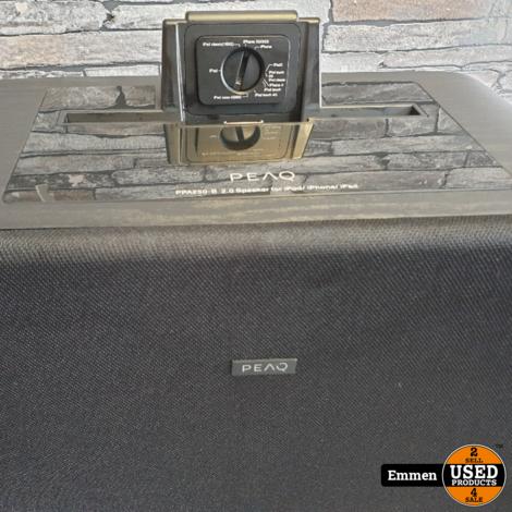 PEAQ PPA250-WD - Speaker met AUX