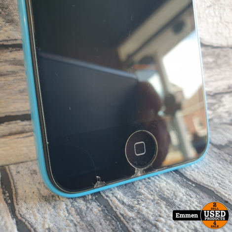 Apple iPhone 5C - 8GB Blauw (barstjes)