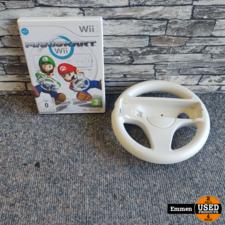 Wii - Mario Kart + 2 Stuurtjes