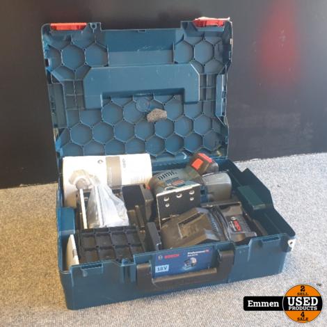 Bosch GSS 18V-10 Professional Accuvlakschuurmachine met Accu en Lader