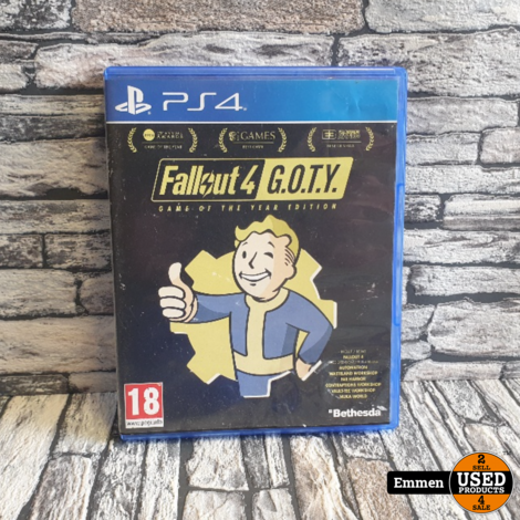 PS4 - Fallout 4 - Playstation 4 Game