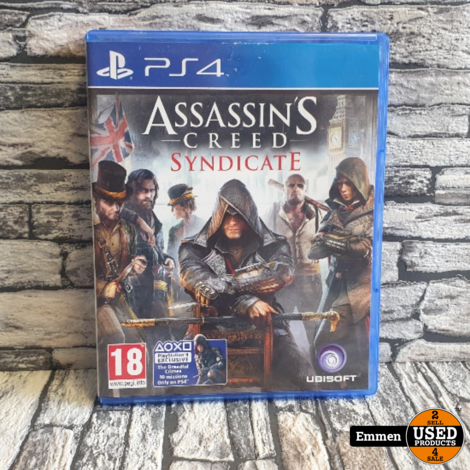 PS4 - Assassin's Creed Syndicate - Playstation 4 Game