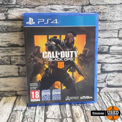 PS4 - Call of Duty Black Ops IIII - Playstation 4 Game