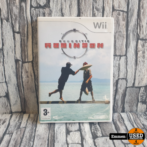 Wii - Expeditie Robinson - Nintendo Wii Game