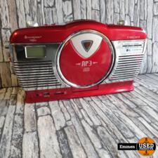 Soundmaster Highline RCD1350R0 Retro Kofferradio (z.g.a.n.)