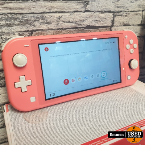 Nintendo Switch Lite - Roze - In Doos ALS NIEUW!