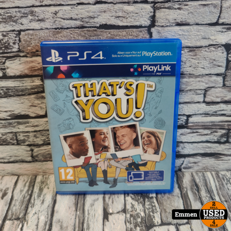 PS4 - That's YOU!